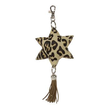 sleutelhanger ster luipaard